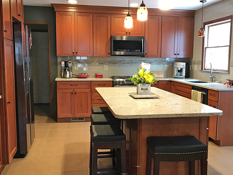 Kitchen Remodel done in St. Louis, MO.