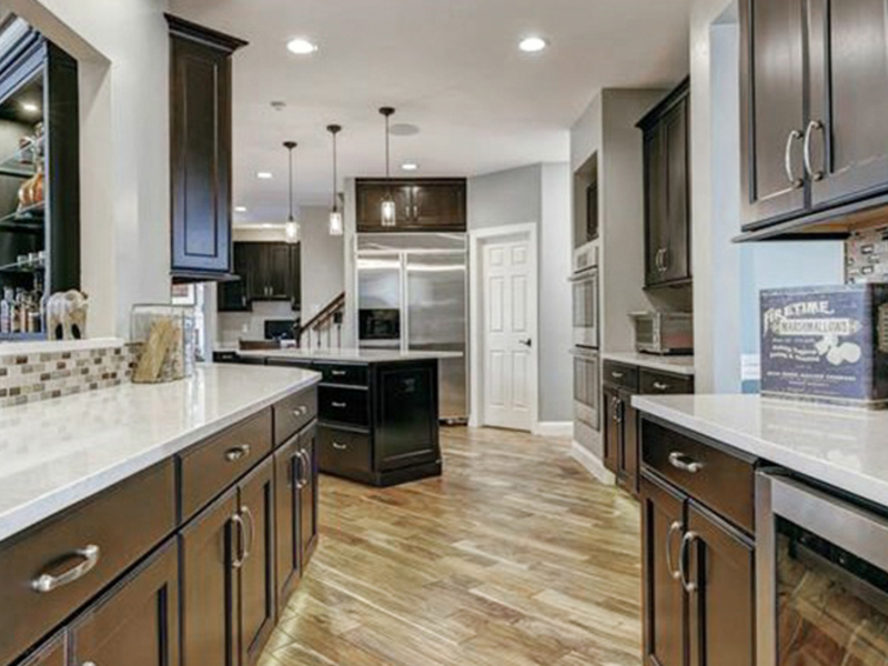 Remodeled Kitchen Space Near St. Louis