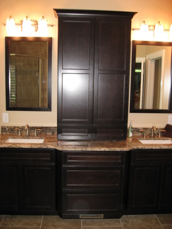 Signature Kitchen Bath St Louis Bathroom Remodel Double - Bathroom vanity renovations